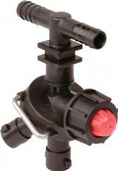 Dry Boom Triple Nozzle Holder with Valve 8240005